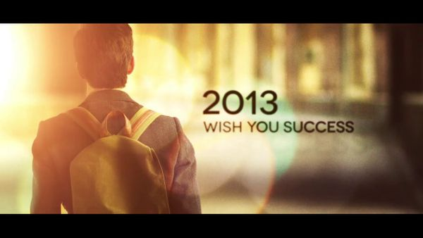 2013,Wish You Success
